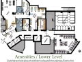Cedar Springs PARC Retirement Residence - Lower level site map